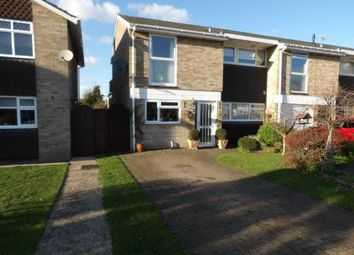 Thumbnail 3 bed end terrace house for sale in Riverside Gardens, Langford, Biggleswade, Bedfordshire