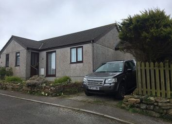 Thumbnail 2 bed semi-detached bungalow to rent in Stennack Parc, Pendeen, Penzance