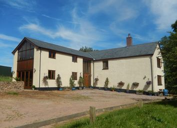 Thumbnail 6 bedroom farmhouse for sale in Oakford, Tiverton