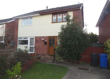 Thumbnail 2 bed semi-detached house for sale in Herons Close, Lowestoft