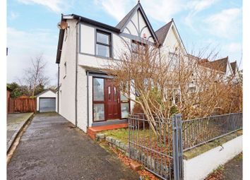 Thumbnail 3 bed semi-detached house for sale in Haypark Avenue, Belfast