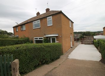 Thumbnail 3 bed semi-detached house to rent in Mount Crescent, Warsop, Mansfield
