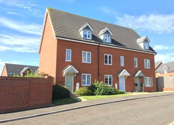 Thumbnail 3 bedroom town house to rent in Curlew Close, Stowmarket