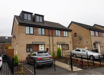 Thumbnail 3 bed semi-detached house for sale in Roundwood Avenue, Bradford