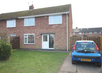 Thumbnail 3 bed semi-detached house for sale in Cranmer Road, Newark, Nottinghamshire.