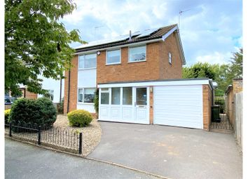 Thumbnail 3 bed detached house for sale in Princess Drive, Kirby Muxloe