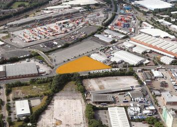 Thumbnail Land to let in Wharfside Way, Trafford Park, Manchester
