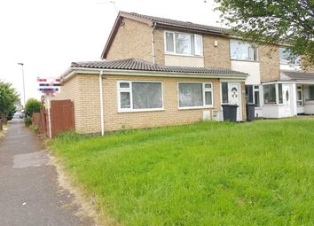 Thumbnail 4 bed semi-detached house for sale in Kincraig Road, Leicester