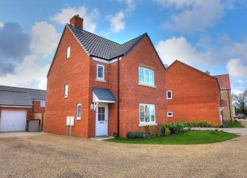 Thumbnail 4 bed detached house for sale in Coachmaker Way, Norwich