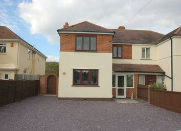 Thumbnail 3 bed semi-detached house for sale in Privett Road, Gosport