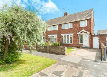 Thumbnail 3 bed semi-detached house for sale in Garth Avenue, Bilton, Hull