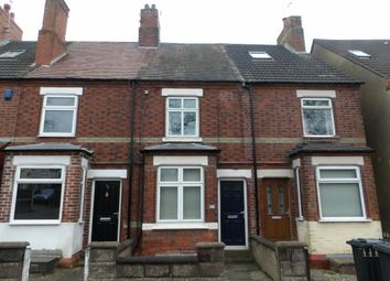 Thumbnail 2 bed terraced house for sale in Smisby Road, Ashby-De-La-Zouch