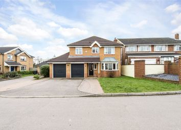 Thumbnail 4 bed detached house for sale in Suffolk Close, London Colney, St. Albans, Hertfordshire