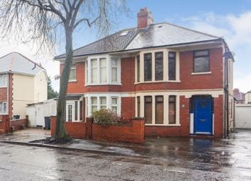 Thumbnail 3 bedroom semi-detached house for sale in Avondale Road, Cardiff