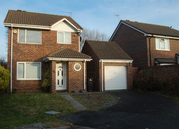 Thumbnail 3 bed detached house to rent in Hambleton Close, Eastbourne