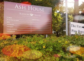 Thumbnail Serviced office to let in Ash House 6, Ransom Wood Business Park, Southwell Road West, Mansfield