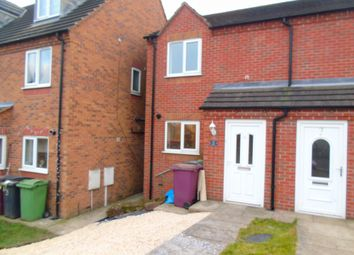 Thumbnail 2 bed town house to rent in Haworth Close, Alfreton, Derbyshire
