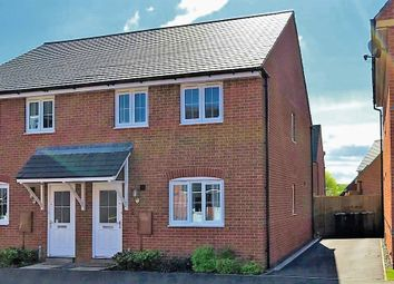 Thumbnail 3 bed semi-detached house for sale in Nottingham Close, Church Gresley