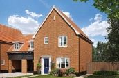 Thumbnail 3 bed link-detached house for sale in Broomfield Road, Stoke Holy Cross