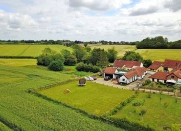 Thumbnail 4 bed barn conversion for sale in The Turnpike, Bunwell, Norwich