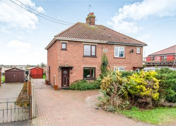 Thumbnail 3 bed semi-detached house for sale in Hythe Road, Methwold, Thetford
