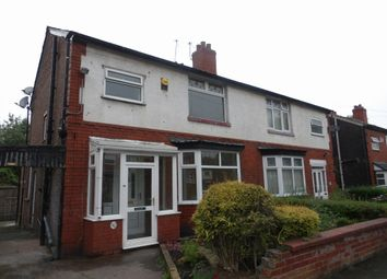 Thumbnail 3 bedroom semi-detached house to rent in Kempton Road, Burnage, Manchester