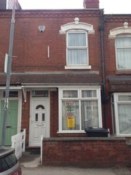 Thumbnail 4 bedroom terraced house to rent in Hubert Road, Selly Oak