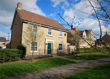 Thumbnail 4 bed detached house for sale in Faraday Gardens, Stotfold, Herts
