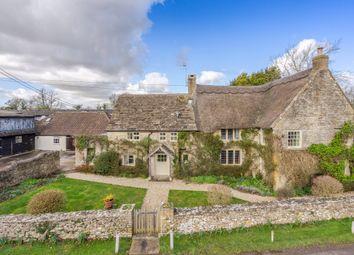Thumbnail 5 bed farmhouse for sale in Nettleton, Chippenham