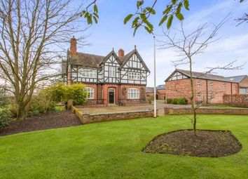 Thumbnail 5 bed detached house for sale in Nantwich Road, Middlewich, Wimboldsley, Cheshire