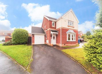 Thumbnail 3 bed detached house for sale in Whitchurch Close, Padgate, Warrington