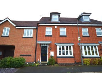 Thumbnail 3 bed terraced house for sale in Anglia Drive, Church Gresley, Swadlincote