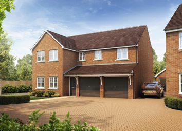 "Thumbnail 5 bed detached house for sale in ""The Fenchurch"" at Moorland Road, Sherburn In Elmet, Leeds"