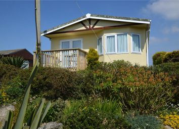 Thumbnail 2 bed detached bungalow for sale in St Martins Lodge, Sea View Holiday Park, Sennen, Penzance