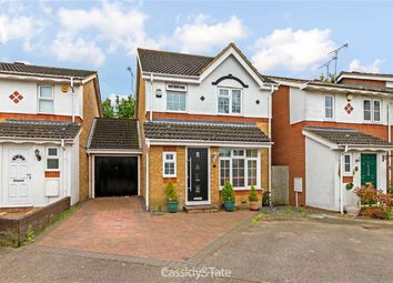 Thumbnail 3 bed detached house for sale in Alsop Close, St Albans, Hertfordshire