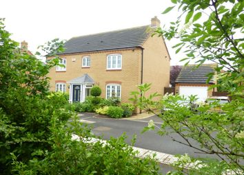 Thumbnail 4 bed detached house for sale in Marigold Close, Evesham