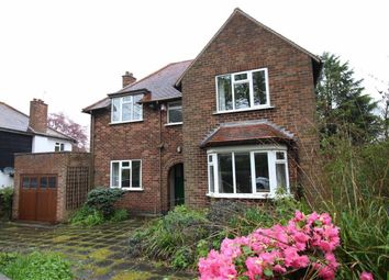 Thumbnail 4 bed detached house for sale in Belper Road, Derby