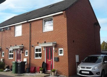 Thumbnail 2 bedroom end terrace house for sale in Hillside Gardens, Wittering, Peterborough
