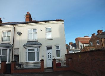 Thumbnail 3 bed terraced house for sale in Stroud Road, Off Green Lane Road, Leicester