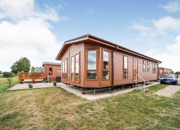 Thumbnail 3 bed mobile/park home for sale in Pettaugh Lane, Stonham Aspall