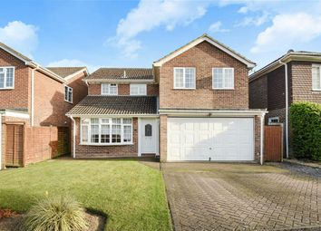 Thumbnail 4 bed detached house for sale in Cypress Close, Finchampstead, Berkshire