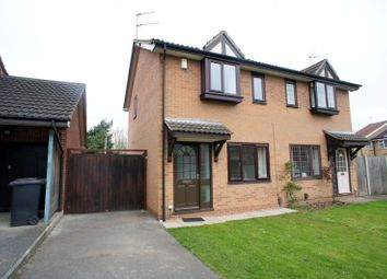 Thumbnail 2 bed semi-detached house to rent in Partridge Way, Mickleover, Derby