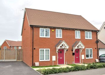 Thumbnail 2 bed semi-detached house for sale in Felsted, Dunmow, Essex