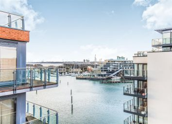 Thumbnail 2 bed flat for sale in 33 Channel Way, Ocean Village, Southampton