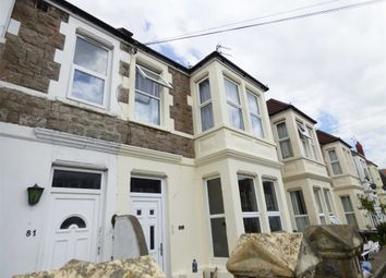 Thumbnail 3 bed flat for sale in Clifton Road, Weston-Super-Mare