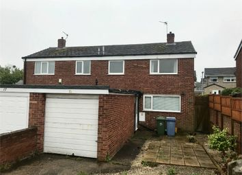 Thumbnail 3 bed semi-detached house for sale in Lichfield Close, Worksop, Nottinghamshire