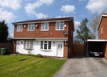 Thumbnail 2 bed semi-detached house to rent in Forest Road, Winsford