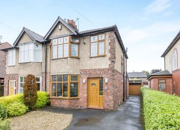 Thumbnail 3 bedroom semi-detached house for sale in Westway, Fulwood, Preston, Lancashire