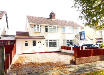 Thumbnail 3 bed semi-detached house for sale in Teehey Lane, Bebington