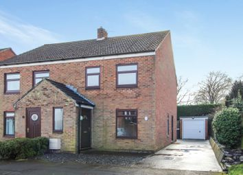 Thumbnail 3 bed semi-detached house for sale in Gibson Close, Hambleton